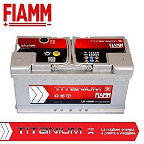 Μπαταρία Fiamm Titanium Pro L5 100P 12V Capacity 20hr 100(Ah) EN (Amps) 870EN Εκκίνησης